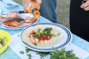 Fish tacos on the table in under 15 minutes